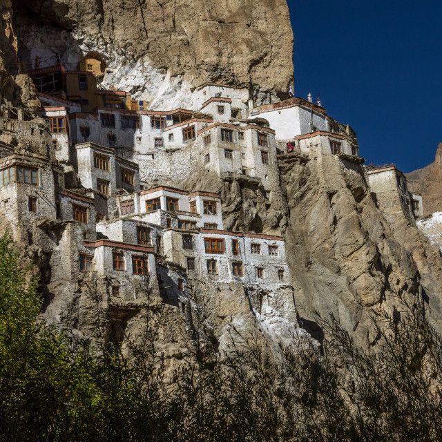 """Phugtal Monastery, Ladakh"" stock image"