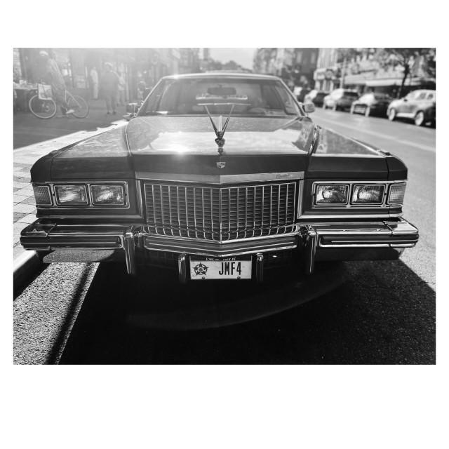 """Cadillac Coup de Ville, 2020, NY. 3/5"" stock image"