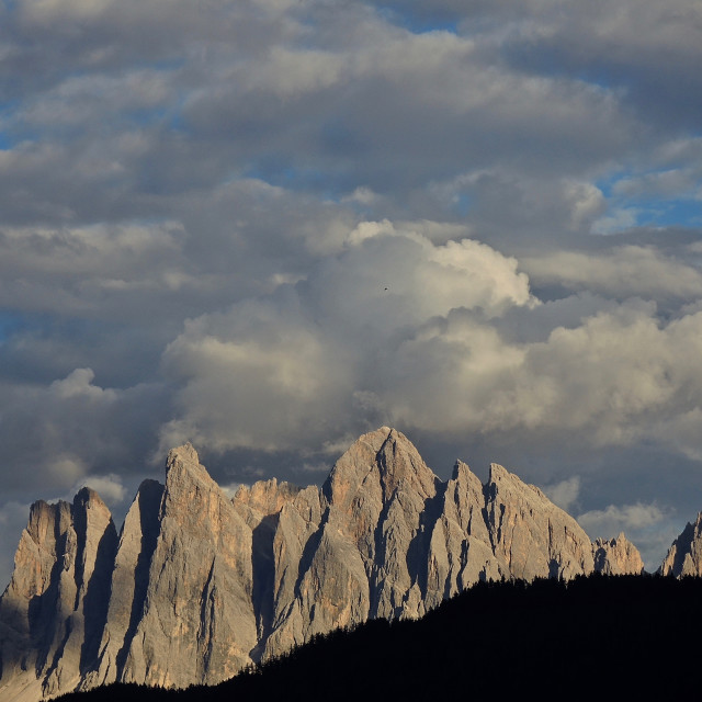 """Dolomiti : rock cathedrals"" stock image"