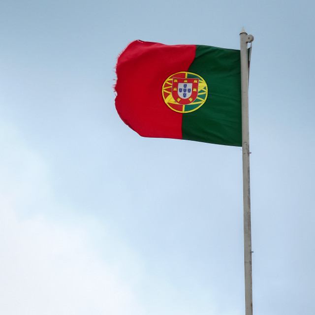 """""""Flag of Portugal"""" stock image"""
