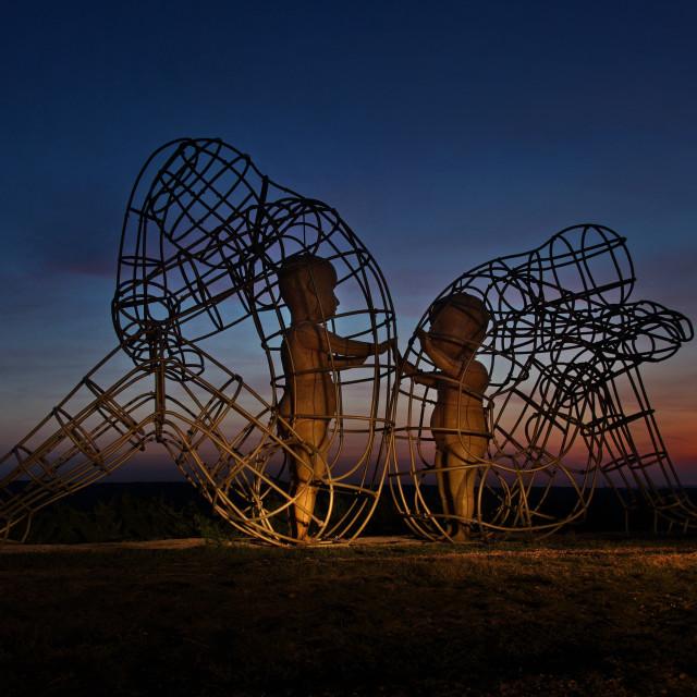 """Love Statue by Alexander Milov"" stock image"