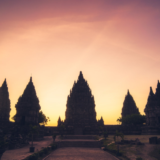 """""""Prambanan Hindu Temple"""" stock image"""