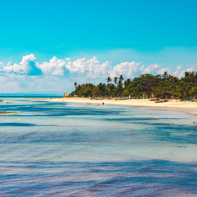 """The Entrance To Bantayan Island - Philippines, Asia"" stock image"