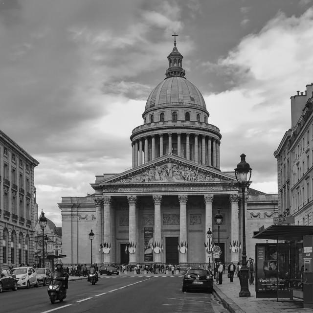 """""""Le Panthéon"""" stock image"""