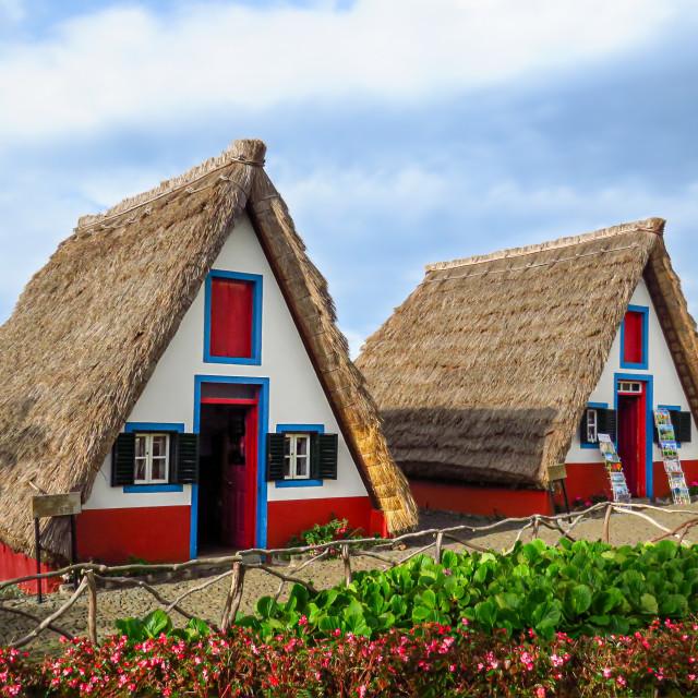 """""""Typical Santana houses"""" stock image"""