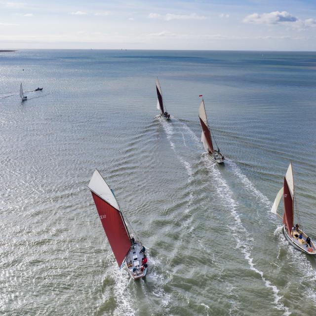 """""""Sailing away"""" stock image"""