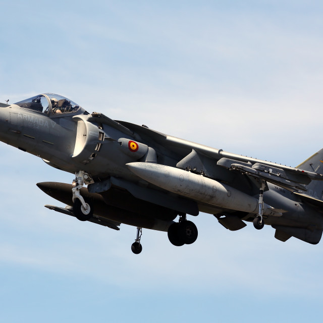 """AV8B Harrier II"" stock image"