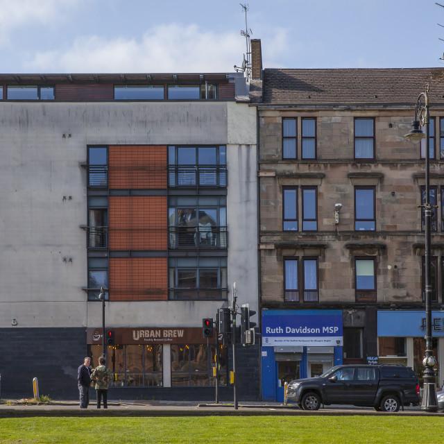 """""""Argyll Street, Glasgow, Scotland"""" stock image"""