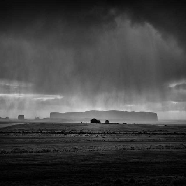 """The rain keeps falling down"" stock image"