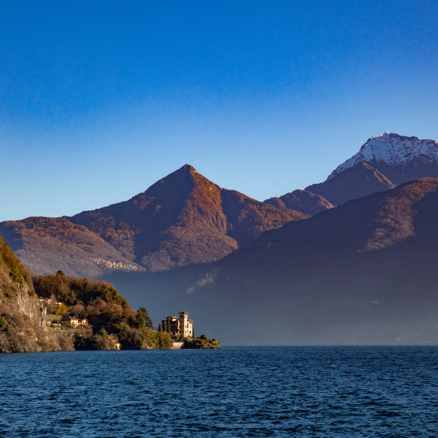 """Lake Como, Lombardy, Italy"" stock image"