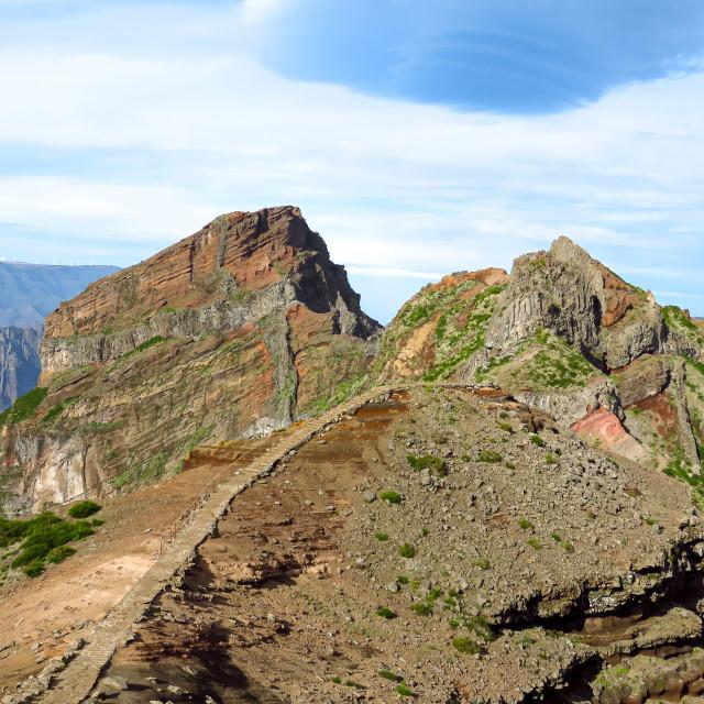 """""""Pico Arieiro"""" stock image"""