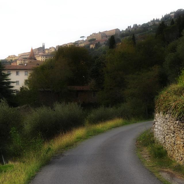 """""""Le Contesse di Cortona"""" stock image"""