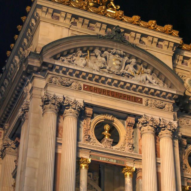 """""""Paris Opera House"""" stock image"""