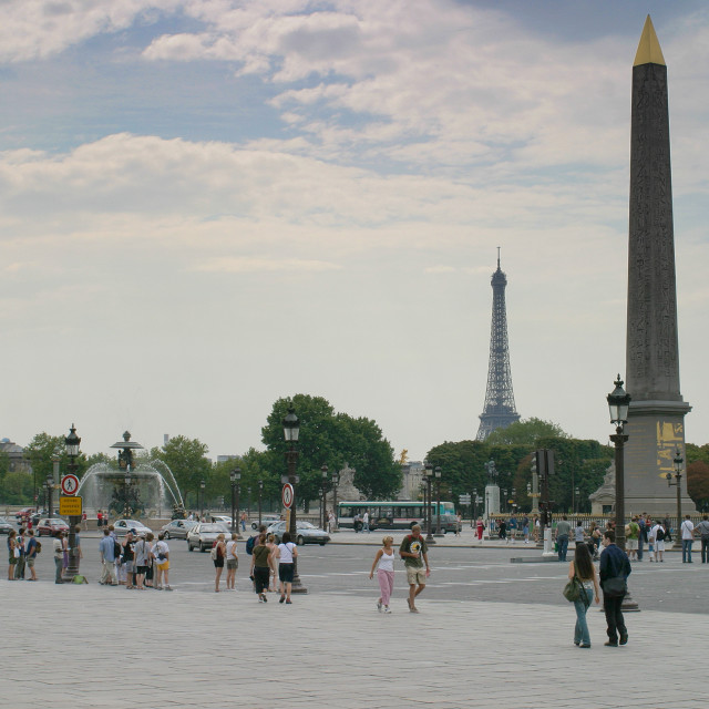 """Place de la Concorde, Paris, France"" stock image"