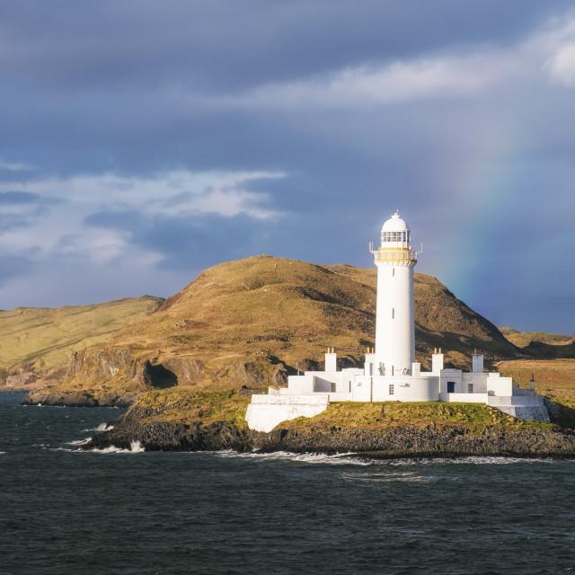 """Lismore Lighthouse"" stock image"