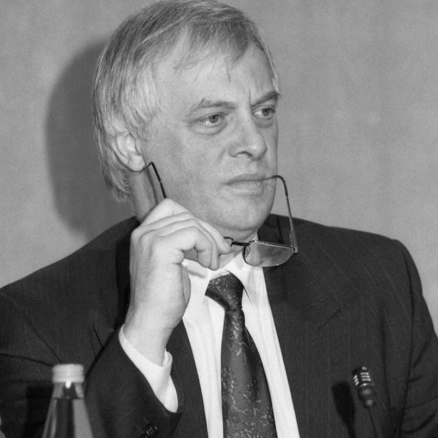 """""""Christopher Patten, politician"""" stock image"""
