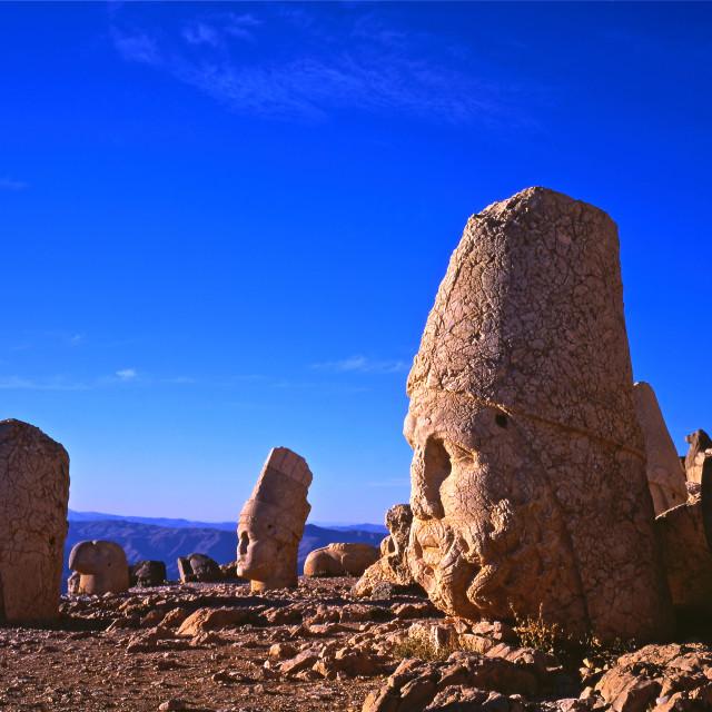 """Mount Nemrut"" stock image"