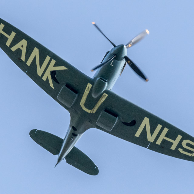 """""""The NHS Spitfire"""" stock image"""