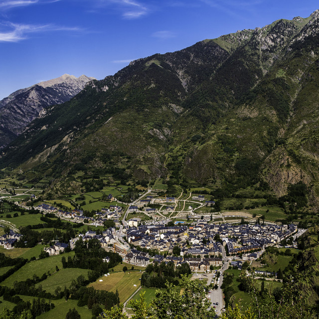 """Benasque"" stock image"