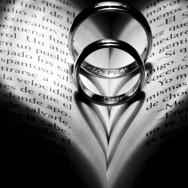 """Eternal love"" stock image"