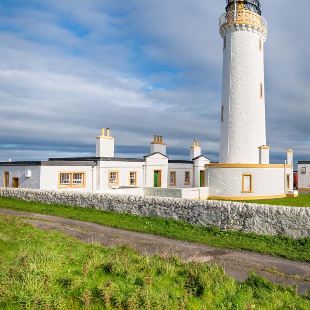 """Mull of Galloway Lighthouse, Mull of Galloway, Dumfries & Galloway, Scotland"" stock image"