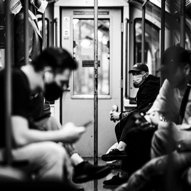 """London Underground Train."" stock image"