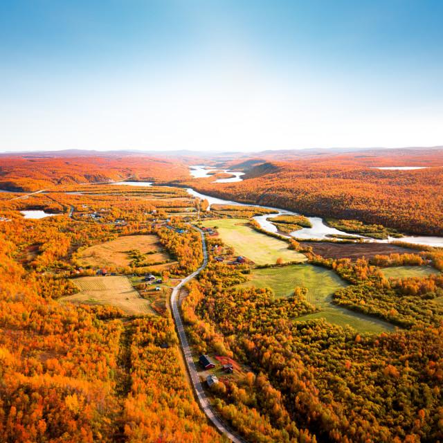 """Autumn Lanscape"" stock image"