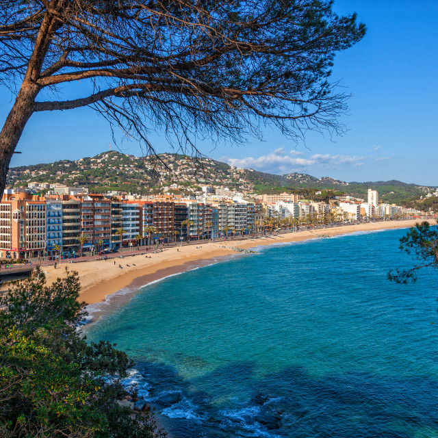 """Lloret de Mar"" stock image"