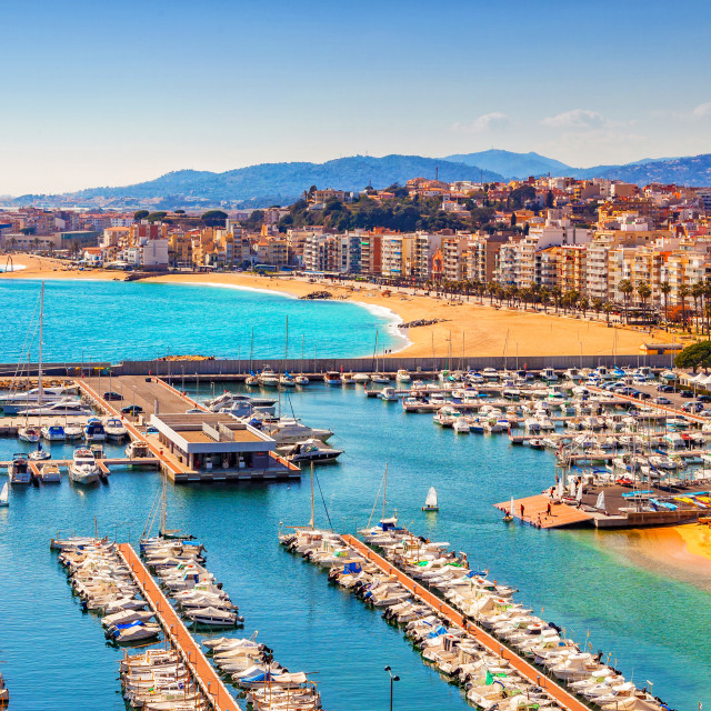 """Blanes view"" stock image"