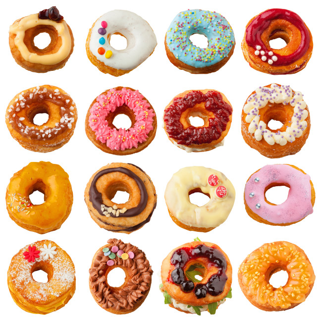 """Cronut collection"" stock image"