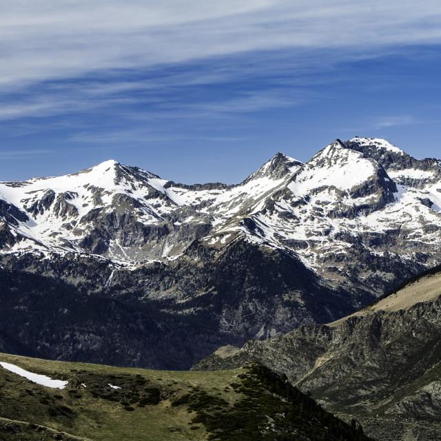 """Vall de Boí"" stock image"