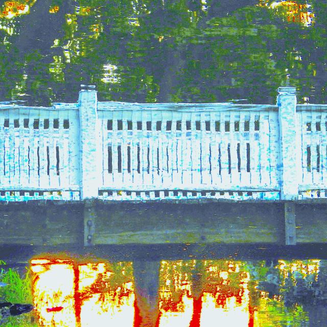 """""""Bridge Home"""" stock image"""
