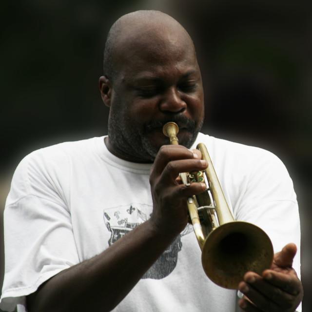 """Street Jazz"" stock image"