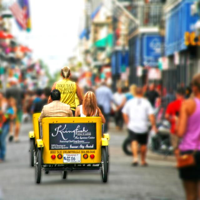 """Bourbon Street"" stock image"