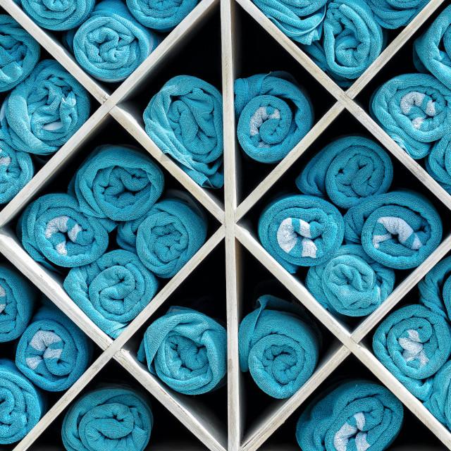 """Towel Matrix"" stock image"