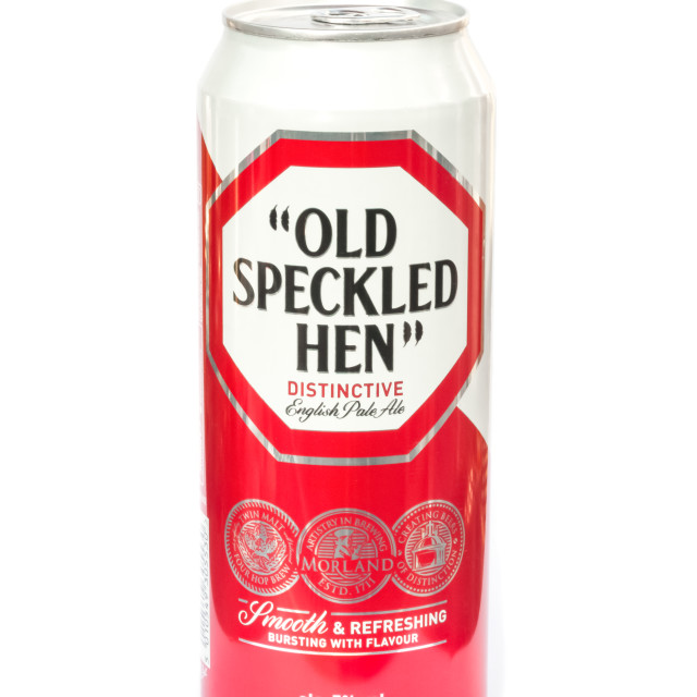 """Old Speckled Hen"" stock image"
