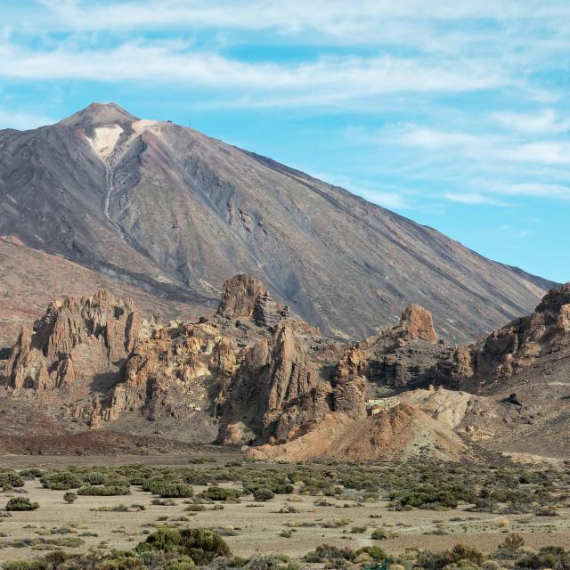 """Volcanic Vista"" stock image"