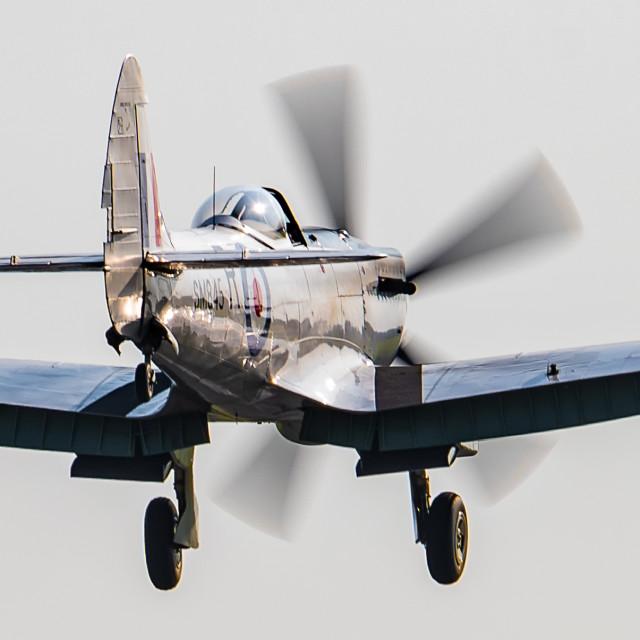 """""""MKVIII Spitfire"""" stock image"""