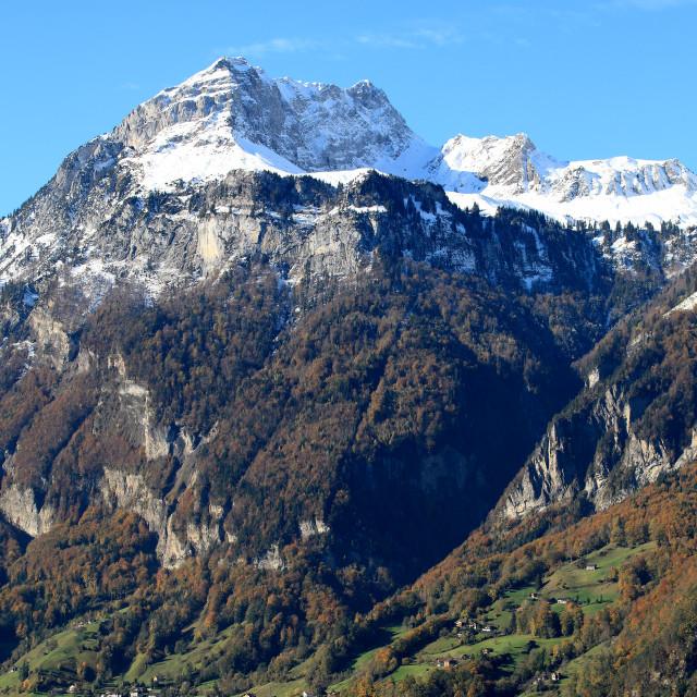 """""""Lake Lucerne, Switzerland"""" stock image"""