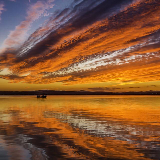 """Sunset"" stock image"