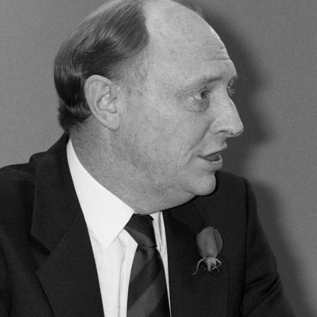 """""""Rt.Hon. Neil Kinnock, 1990"""" stock image"""
