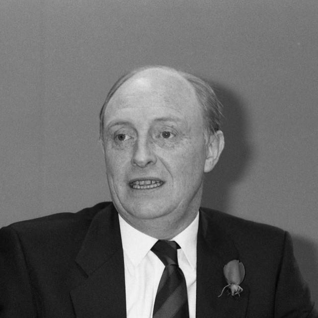 """""""Rt.Hon. Neil Kinnock, Labour Leader"""" stock image"""