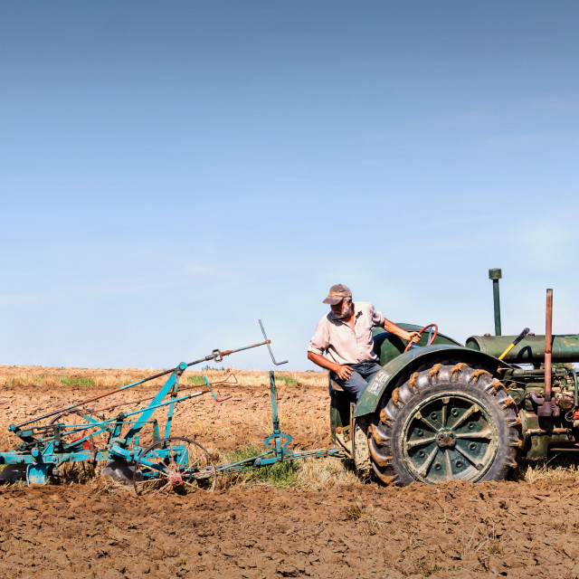 """ploughing"" stock image"