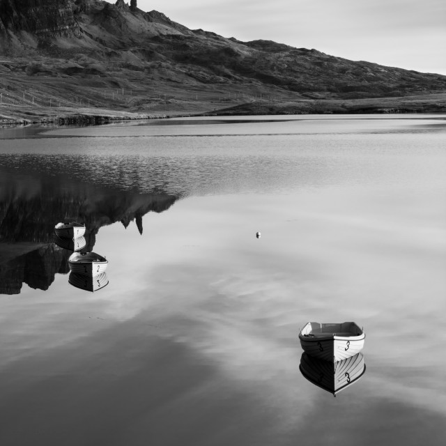 """The Storr, Isle of Skye, Scotland"" stock image"