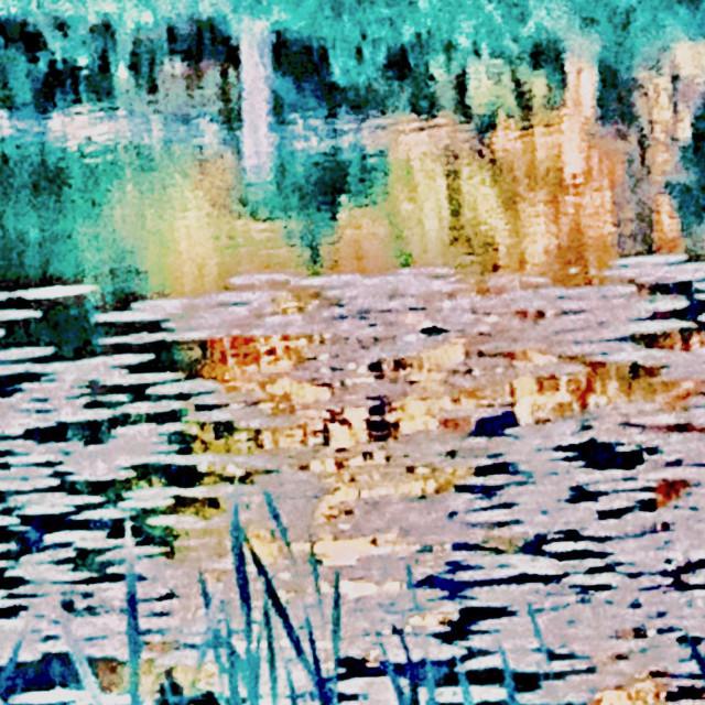 """Pastel Pond"" stock image"