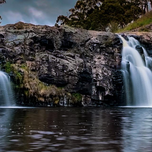 """""""Turpin Waterfall"""" stock image"""