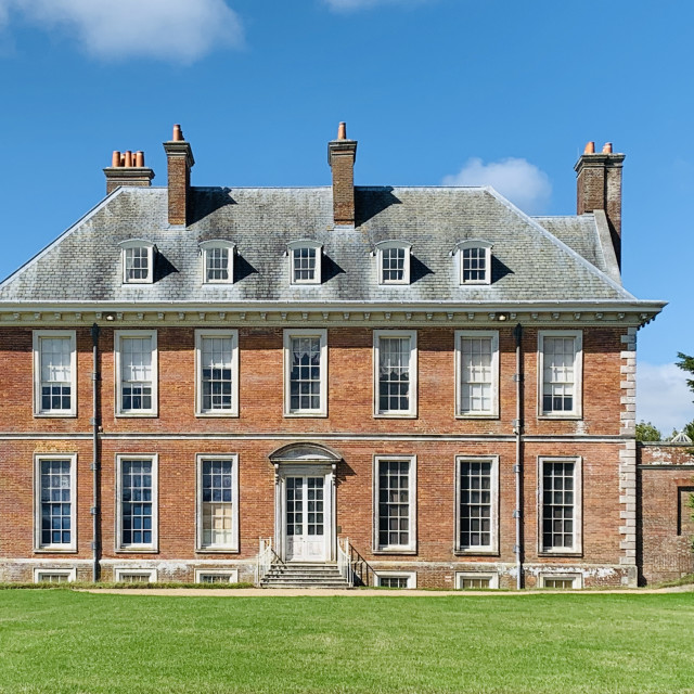 """""""Hinton Ampner House"""" stock image"""