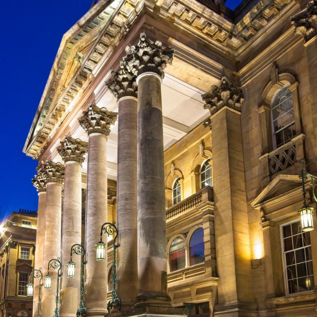 """Theatre Royal, Newcastle upon Tyne"" stock image"