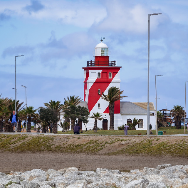 """""""Green Point Lighthouse"""" stock image"""