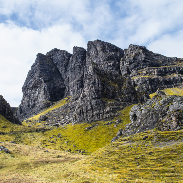 """""""Old Man of Storr"""" stock image"""